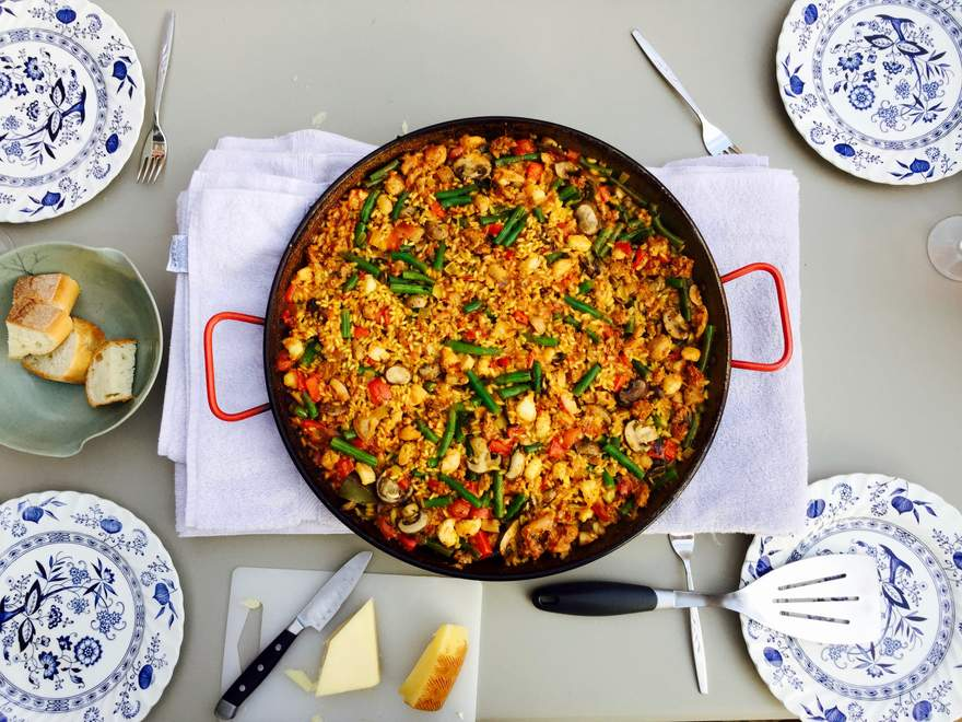The Best Paella I've made so far